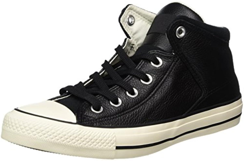 Converse Unisex Erwachsene CTAS High Street Hi Black/Egret Hohe Sneaker