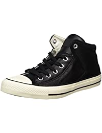 Converse Unisex-Erwachsene Ctas High Street Hi Black/Egret Hohe Sneaker