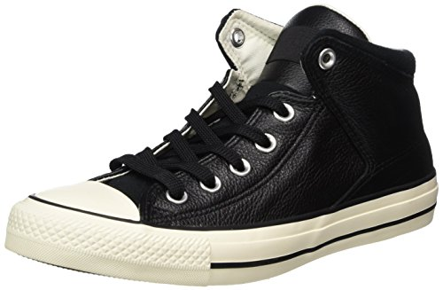 Converse Unisex-Erwachsene CTAS HIGH Street HI Black/EGRET Hohe Sneaker, Schwarz, 44 EU -