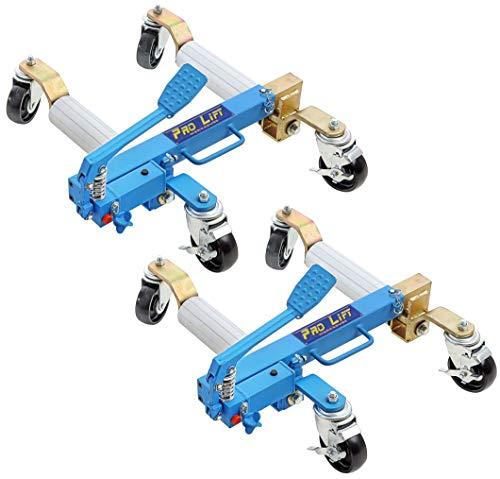 Pro-Lift-Werkzeuge Rangierhilfe hydraulisch PKW Rangier-Wagenheber Rangierheber 680 kg