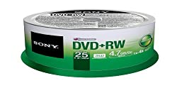 Sony Dvd+rw 4.7gb 25dpw47sp Dvd-rohling