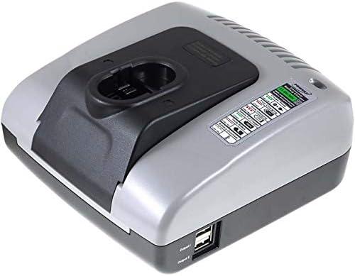 Caricabatteria Powery Powery Powery con USB per Bosch Tipo 2607335678 | Le vendite online  | Gioca al meglio | Offerta Speciale  74a1b1