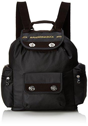 mandarina-duck-womens-utility-tracolla-black-back-pack-black-schwarz-black-651