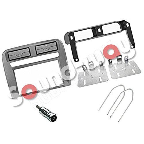 Kit montaggio mascherina adattatore autoradio stereo Fiat Grande Punto grigio 1