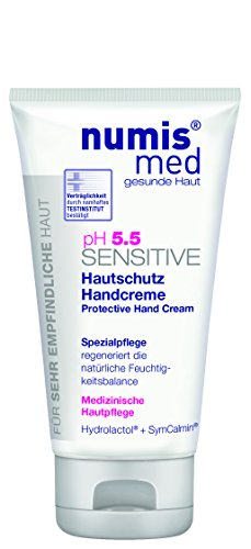 numis med ph 5.5 SENSITIVE Hautschutz Handcreme - vegan & parabenfrei 6er Pack (6 x 75 ml)