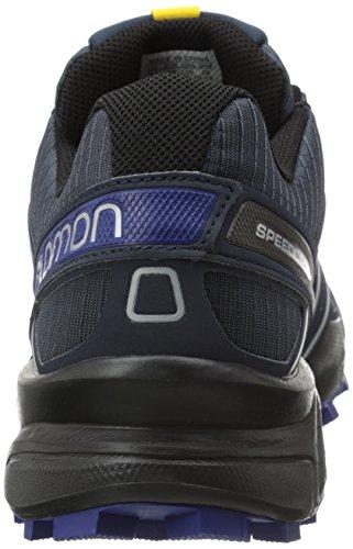 Salomon Herren Speedcross 3 Cs Traillaufschuhe Mehrfarbig (Deep Blue/Black/G Blue)