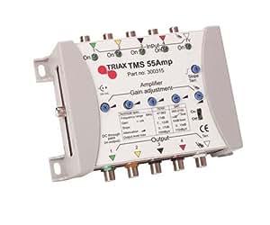 Triax TMS 55AMP Amplificateur Blanc