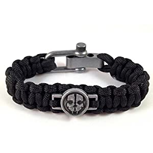 Magic Clover Paracord Gurt Survival Armband Official Merchandise Cod Call of Duty Ghosts UK