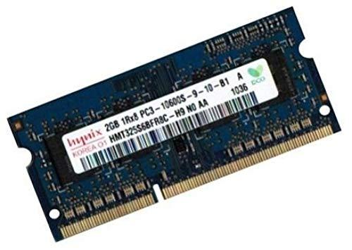 Mihatsch & Diewald / Hynix Arbeitsspeicher 1 x 2 GB 204 pin DDR3-1333 SO-DIMM (1333Mhz, PC3-10600S, CL9, 204 pin) für Asus Netbook EEE PC 1001PXD + 1005PX + 1011PX + 1015B + 1015BX + 1015PD + 1015PN + 1015PED + 1015PEM + 1016P + 1016P + 1016PG + 1215N + 1215PN + R011PX + R101D + R105D + T101MT + X101 + X101H + Lamborghini VX6 (Pc 1001pxd Eee)