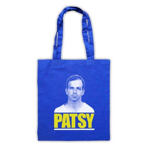 Lee Harvey Oswald Patsy Tote Bag Blu