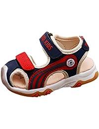 7a47bf47659c7 Chaussures Premiers Pas 2019 Shoes Sandales Fille Plage Chaussures Bebe  Garçon Souple Sneakers été BéBé Fille Chaussures de Trekking…