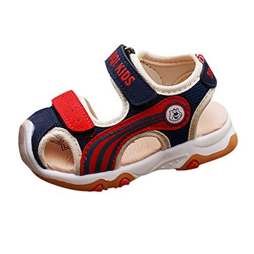 Sayla Sandalias para Bebés NiñA NiñO Verano Casuales Moda Vestr Fiesta Deportivas Playas Antideslizante Zapatillas De Trekking Y Senderismo Unisex Zapatos De Fondo Suave