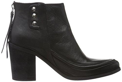 Black Lily Rae Boots, Bottines non doublées femme Noir - Noir