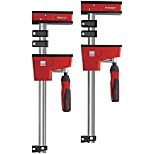 Bessey KRE125 – 2 K Body clamp Twin Pack, rosso