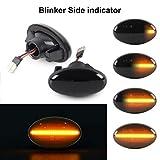 Dynamische Seitenblinker OZ-LAMPE Blinker Fließende Seitenblinker Smoke Für Ben-z Smart W450 & W452 A-Klasse W168 Citan W415 Vito W639 Vito W447