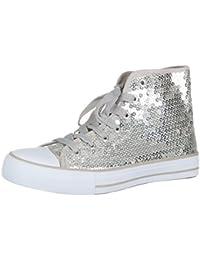 b2eb11c471a8 Suchergebnis auf Amazon.de für  Silber - Sneaker   Damen  Schuhe ...