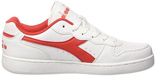 Diadora Playground, Sneaker Uomo Rosso (Rosso Carminio)