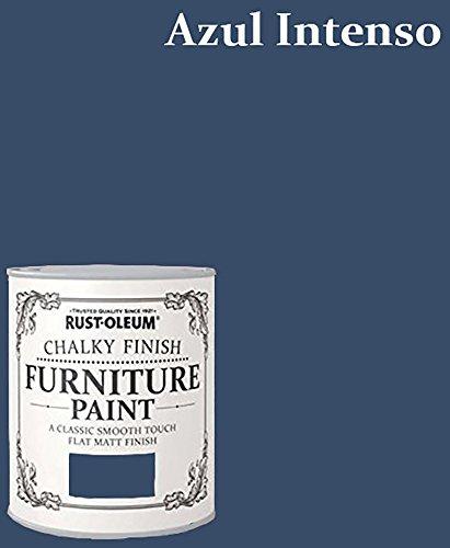 Malerei für Möbel Chalky (Effekt Kreide),, intensives blau, 125ml
