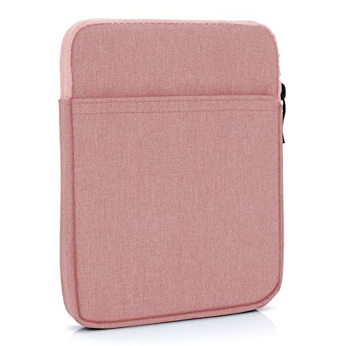 "MyGadget 6 Zoll Nylon Sleeve Hülle - Schutzhülle Tasche 6"" für eBook Reader/Smartphone/Navi z.B. Kindle Paperwhite, Apple iPhone XS X 8 Plus - Rosa"