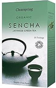 Clearspring Organic Green Tea Sencha 20 Bag (order 6 for trade outer)