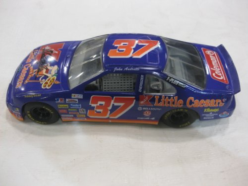 nascar-die-cast-124-scale-stock-car-37-john-andretti-kmart-little-caesars-purple-ford-taurus-by-raci