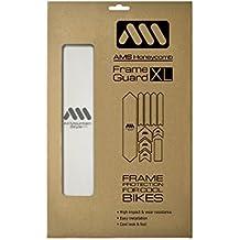 All Mountain Style Kit di protezione ingranaggi bicicletta, Bianco (Transparent), XL