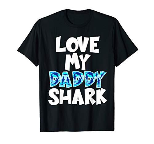 8ce0b5da Daddy shark shirt - daddy and son apparel al mejor precio de Amazon ...