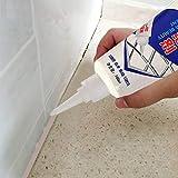 SHSH sellador de azulejos de 4 colores, sellador de azulejos, resistente al agua, protección de moho, sellador de cocina y baño, potente y duradero, reforma de azulejos de baño, negro