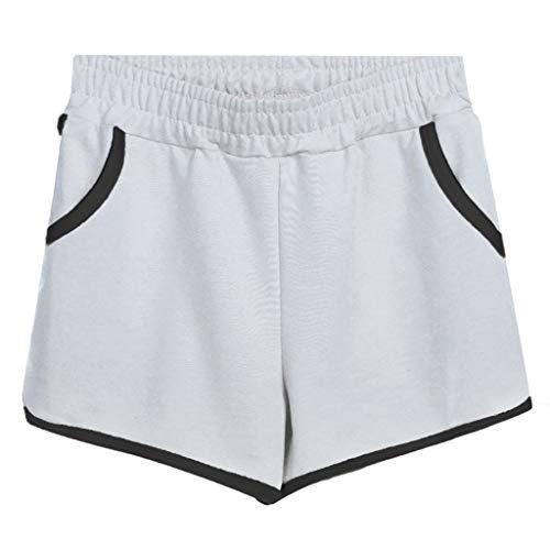 Shorts LEEDY Damen Übergröße Home Kurze Hosen Strand Sporthose Schlafhose Yoga Running Gym Beiläufige Sport Hosen ()