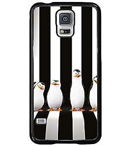 PRINTSWAG PENGUINS Designer Back Cover Case for SAMSUNG GALAXY S5