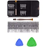 THEMISTO 27 in 1 Precision Screwdriver Set Multi Pocket Repair Tool Kit for Mobiles, Laptops, Electronics