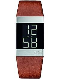 s.Oliver Unisex-Armbanduhr Digital Quarz Leder SO-3182-LD