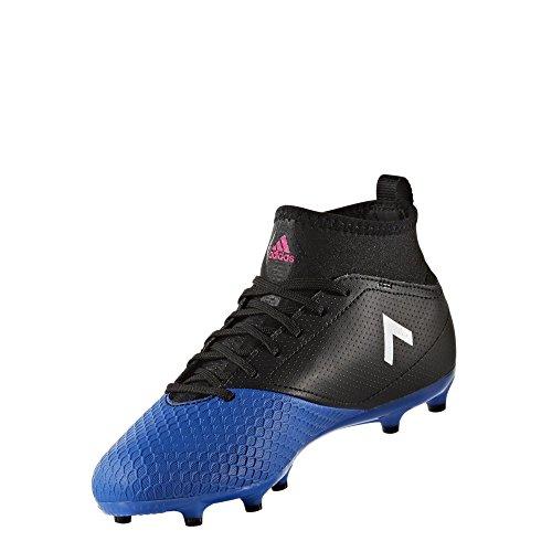adidas Ace 17.3 Fg J, Scarpe da Calcio Unisex – Bambini Nero (Negbas/Ftwbla/Azul)