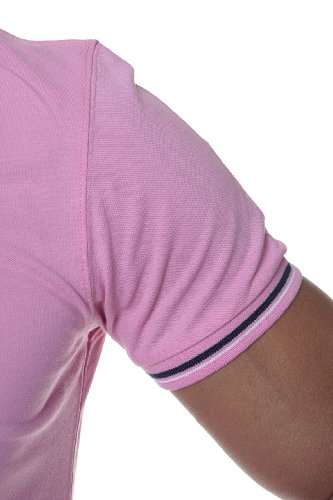 Williams Wilson Herren Shirt Poloshirt Rosa1
