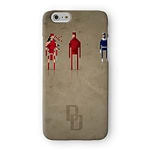 8Bit–Marvel Casse-cou Full Wrap Étui imprimé en 3D de haute qualité, Coque arrière rigide de protection pour Apple® iPhone 6par DevilleArt