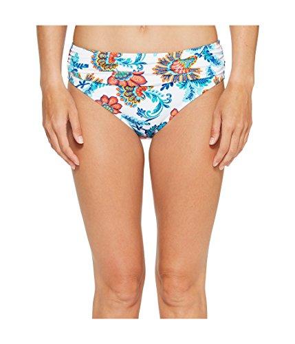 Tommy Bahama Womens Fira Floral High-Waist Sash Bikini Bottom - Tommy Bahama Womens Bikini