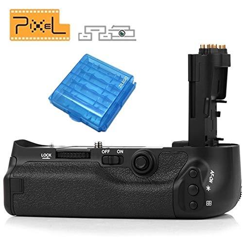 Pixel BG-E11 Impugnatura Porta Batteria Battery Grip multifunzione per Canon EOS 5D Mark III Come BG-E11 sostituzione funziona con batteria LP-E6 (sostituzione per Canon BG-E11)