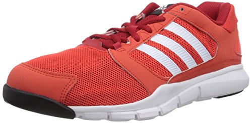 adidas Essential Star, Scarpe da Ginnastica da Uomo Rosso (bright red/ftwr white/power red)