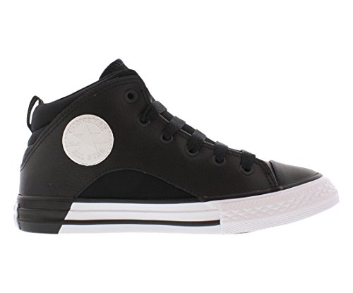 Converse Boys Chuck Taylor All Star Mid Lace Up Sneaker Soar/Black/White Black/Black/White