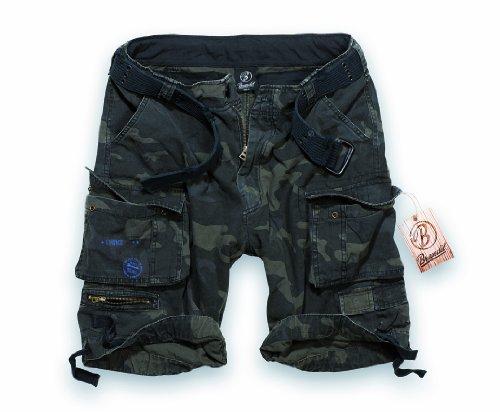 BRANDIT Pantaloni Bermuda uomo Cargo SAVAGE Short con Cintura (XXL)