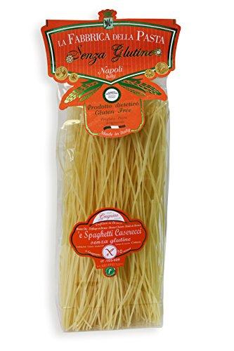 500g Glutenfreie Spaghetti Caserecci di Gragnano Handwerkliche Bronze Verarbeitung