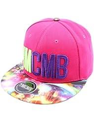 YMCMB - Snapback YMCMB Rose et Visière Cosmos Homme / Femme