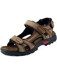 CCZZ Herren Sport Outdoor Sandalen Freizeit Schuhe Strandschuhe Pantolette  Klettverschluss Sandal 957a0a8ba1