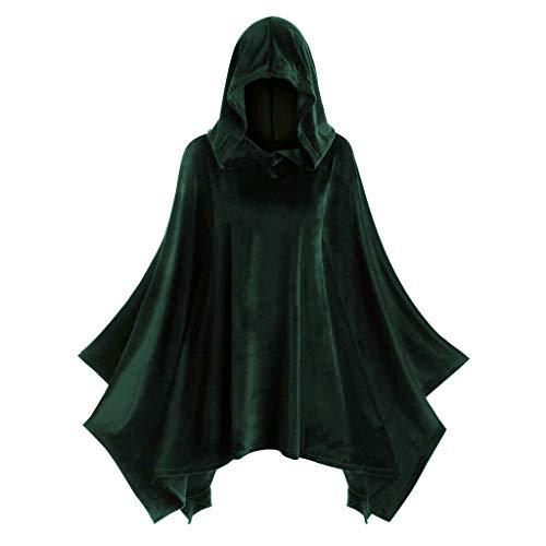 Erwachsene Ghost Robe Kostüm - mounter- Halloween-Umhang für Damen, massives Vintage-Design,
