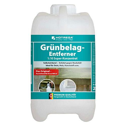 Hotrega H110803002 Grünbelag-Entferner Maxi-Pack, 2 Liter