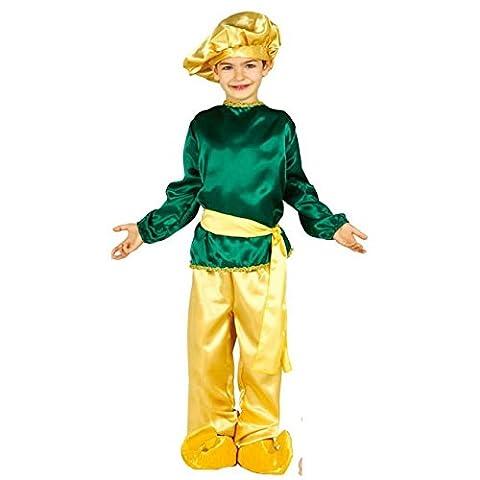 Heiliger König Melchior Kostüm für Kinder Krippenspiel die heiligen drei Könige Kirche Weihnachten Gr. 98-146, (Krippenspiel König Kostüm)