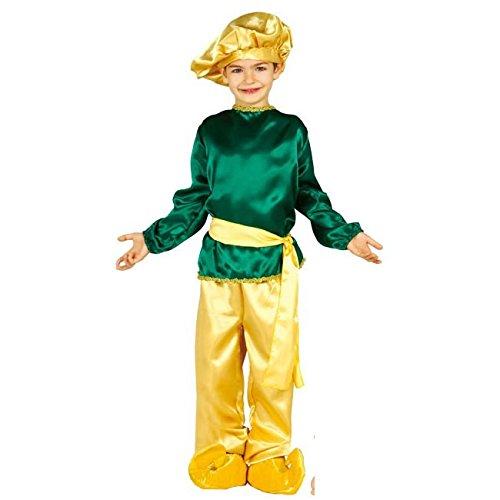 Heiliger König Melchior Kostüm für Kinder Krippenspiel die heiligen drei Könige Kirche Weihnachten Gr. 98-146, (Melchior Kostüme Kind)