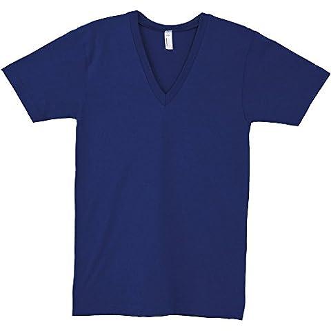American Apparel Womens/Ladies Fine Jersey Short Sleeve V-Neck T-Shirt