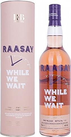 R & B Raasay While We Wait Single Malt Scotch Whisky 70 cl