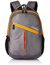 Amazon Brand - Solimo Svelte Laptop Backpack for 15.6-inch Laptops (27 litres)